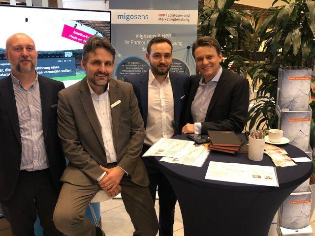 migosens Team auf der DAFTA